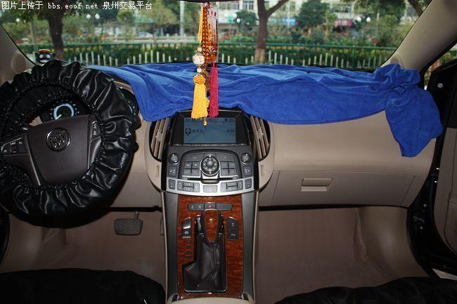泉州汽车音响改装 别克君越升级主机及头枕DVD导航系统高清图片