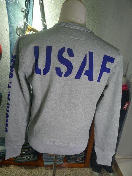 阿美咔叽 美军军用服装品牌Avirex U S A 复古卫衣