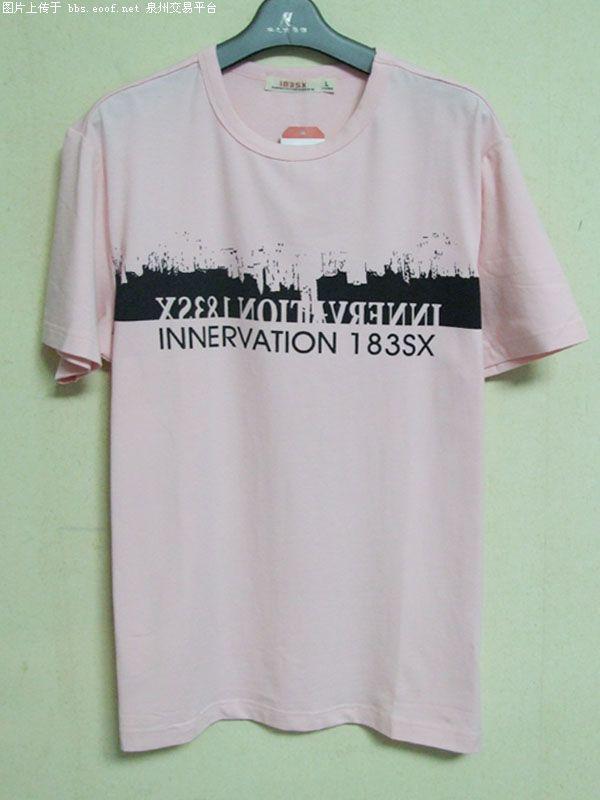 品牌T恤,男式短袖T恤厂家直销