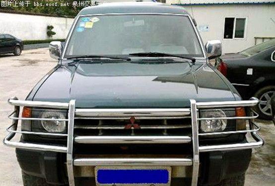 97款全进口三菱帕杰罗飞顶车高清图片