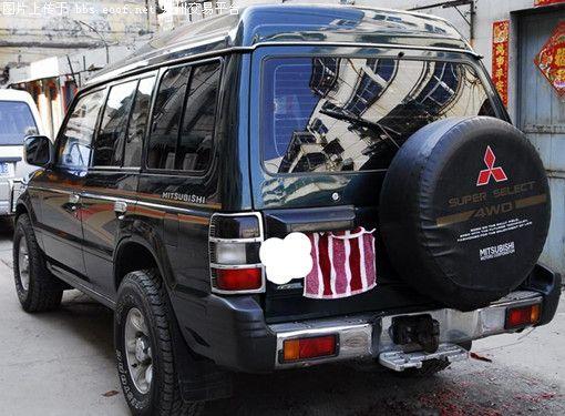 98款三菱帕杰罗赖案车处理出来的动力车架超新高清图片