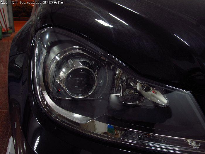 奔驰C180旅行车改装正品奥迪Q5双光透镜